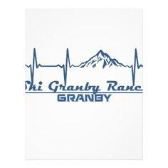 #Ski Granby Ranch  -  Granby - Colorado Letterhead - #office #gifts #giftideas #business