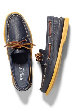 Color, right down to the sole. Color yourself in Sperry in time for your back to school shopping now at sperry.com