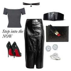 """""""Step Into The Now!!"""" by rekenashavon on Polyvore featuring River Island, Lulu Guinness, Christian Louboutin, Miss Selfridge and Fallon"""