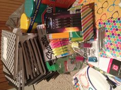 Great back-to-school supplies I found at Walmart!