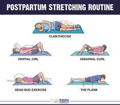 Don't jump into exercising right after #ChildBirth, instead try these #Stretches. #PostPartumWorkouts #IndianWorkouts Visit Here: http://indianworkouts.com/