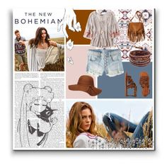 """The New Bohemian"" by svga-kookie ❤ liked on Polyvore featuring American Eagle Outfitters, Dorothy Perkins and Chan Luu"