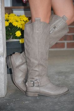 Wide Open Spaces Boot ~ Taupe from The Muddy Pearl