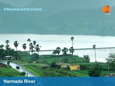 Listen deeply for the river's voice as it tumbles home to the sea. Come stand on the banks of the Narmada and feel connected with nature. #WeekendAttraction