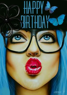 My Happy Birthday edit | artist Scott Rohlfs
