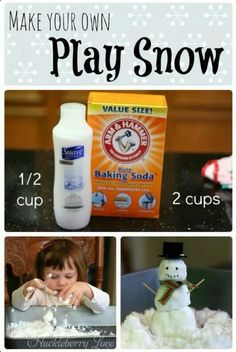 how to make play snow!