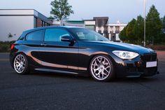 "BMW M135i with 18"" Bola MSH 135i, Performance Wheels, Bmw 1 Series, Bmw Love, Bmw Cars, Alloy Wheel, Ducati, Custom Cars, Dream Cars"