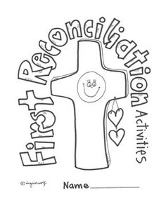 Activities and printables to help your children prepare for the Sacrament of Reconciliation. Creative designs by Ingrid's Art.  Also see the Sacrament of Eucharist Booklet.