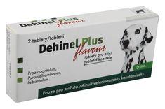 Dehinel Plus flavour ve formě tablet je určen k prevenci a léčbě infekcí vyvolaných červy (škrkavky, měchovci, tasemnice) u štěňat a dospělých psů. Balení obsahuje 2 tablety. Skladem za výbornou cenu. osobní odběr zdarma, rychlé doručení.