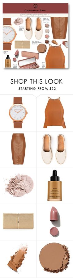 """""""Time of the life"""" by pankh ❤ liked on Polyvore featuring Glamorous, Bailey 44, Terre Mère, Urban Decay, Giorgio Armani, Nina Ricci and christianpaul"""