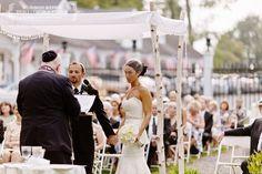 Jewish wedding in Rhinebeck at the Belvedere Mansion #Chuppahs