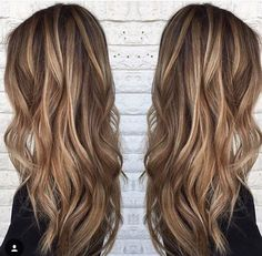 light brown with blonde highlights