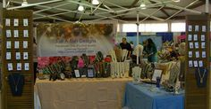 Just A Tish Designs booth at our February 1st Let's Shop Local !