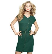 AVON - mark Salute to Style Dress. Yes, sir, er, mark. girl - this military-inspired dress is guaranteed to command…attention! In cute and comfy ponte knit with burnished goldtone zippers, we won't be surprised if it becomes your new uniform.