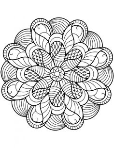 Coloring Pages for Adults Mandala. 30 Coloring Pages for Adults Mandala. Coloring Pages Mandala From Free Coloring Books for Adults Flower Coloring Pages, Mandala Coloring Pages, Animal Coloring Pages, Coloring Pages To Print, Coloring Book Pages, Coloring Pages For Kids, Coloring Sheets, Pattern Coloring Pages, Mandalas Painting