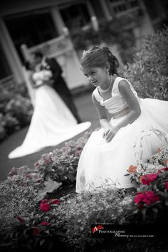 Photo  #flower girl ... Wedding ideas for brides, grooms, parents & planners ... https://itunes.apple.com/us/app/the-gold-wedding-planner/id498112599?ls=1=8 … plus how to organise an entire wedding, without overspending ♥ The Gold Wedding Planner iPhone App ♥