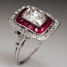 Art Deco Heirloom Diamond Ring