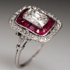 Art Deco Heirloom Diamond Ring