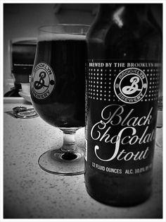 Brooklyn Black Chocolate Stout #beer