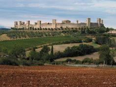 Fortezza di Monteriggioni-Castelli e Palazzi d'Italia