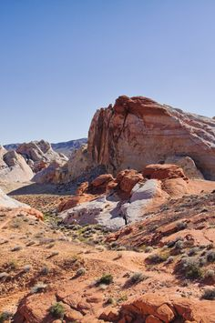 Firery rocks - Valley of Fire Nevada State Park - Near Las Vegas Attractions