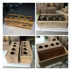 "Rustic herb garden box made from pallets to keep the garden herbs dry. [symple_box color=""gray"" fade_in=""false"" float=""center"" text_align=""left"" width=""100%""] Submitted by: Charles Parriet ! [/symple_box]"