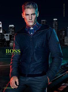 Mikkel Jensen for BOSS Green Fall Winter 2015.16