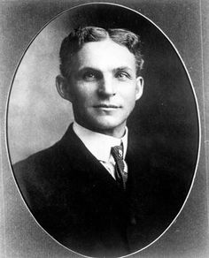 U.S.A. BUSINESS / INDUSTRY. Henry Ford (1863-1947), 1904.  American industrialist,  founder of the Ford Motor Company, and sponsor of the development of the assembly line technique of mass production. He  produced an automobile that was reasonably priced, reliable, and efficient with the introduction of the Model T in 1908. This vehicle initiated a new era in personal transportation. It was easy to operate, maintain, and handle on rough roads, immediately becoming a huge success.