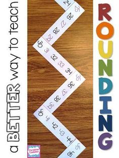 engaging, in-depth lesson plans and activities to teach rounding concepts- teach… Fourth Grade Math, Second Grade Math, Grade 3, Math Strategies, Math Resources, Math Activities, Math Games, Comprehension Strategies, Math Lesson Plans
