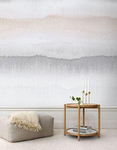 Watercolour wall.....beautiful