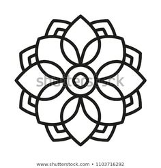 Easy Mandala Form for Coloring. Ebook Web page. Easy Mandala Form for Coloring. Mandala Art Lesson, Mandala Painting, Mandala Drawing, Mandala Tattoo, Dot Painting, Mandala Design, Mandala Pattern, Stained Glass Patterns Free, Simple Mandala