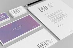 DINA  MUNCH by Christoffer Birkkjaer, via Behance #Branding #Identity