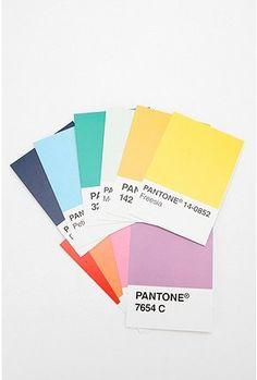 Pantone postcards. Set of 100: $19.95