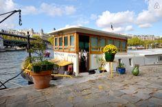 parijs, woonboot, airbnb