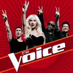 Better the American Idol - Adam Levine, Christina Aguilara,               and Blake Shelton