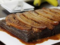 Chocolate-Peanut Butter Upside-Down Cake