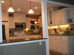 Small Kitchen Remodel gives function and space.