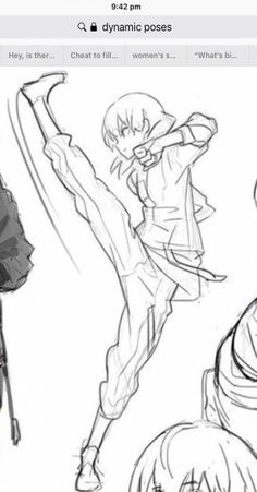 Pose reference kick drawing reference poses, body reference, drawing tips, art reference, Drawing Body Poses, Drawing Reference Poses, Body Reference, Design Reference, Drawing Tips, Drawing Sketches, Drawings, Drawing Base, Manga Drawing