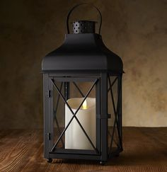 get the look of beautiful outdoor lanterns without the risk of real flames.  The Luminara Churchill Lantern features a weather proof outdoor lantern with a Luminara outdoor candle.  These lanterns are great in all kinds of weather and can be used indoors as well.