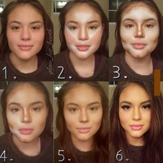 Contouring... I will learn how to do this! So beautiful!