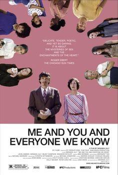 """Me and You and Everyone We Know"" (2005) mana Arsenāla laika filma. ļoti ļoti forša.   rež.:Miranda July"