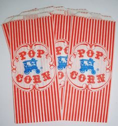 @Reness Nasca did you see these? 25 Vintage Style Popcorn by DimeStoreBuddy on Etsy, $3.50