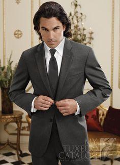 Men's Custom Made Peaked Lapel Suit