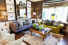 family room interior decorating. Colourworks Interior Design.S de Fleuriot