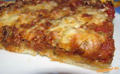 Pizza s mletým  mäsom