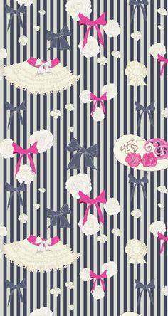 Jewelry pattern by Anastasia Nicholls, via Behance