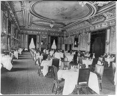 Metropolitan Club dining room   Library of Congress