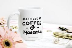 T Shirt Factory, Mascara, Print Design, Mugs, Coffee, Tableware, Kaffee, Mascaras, Dinnerware