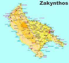 Zakynthos Greece, Greece Map, World Map Wallpaper, Cartography, Weeding, Travel Around, Maps, Island, Cards