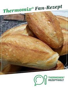 Brötchen wie vom Bäcker von Beate Carola. Ein Thermomix ® Rezept aus der Kategorie Brot & Brötchen auf www.rezeptwelt.de, der Thermomix ® Community.